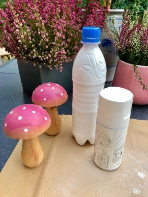 Plastikflasche weiss anspruehen